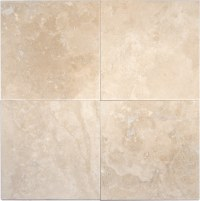 "MS International Ivory Travertine Ivory Travertine / 6""x6 ..."