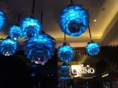 Pretty lights at Melbourne Casino