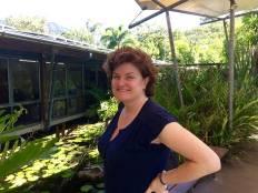 Megan at Hartley's Crocodile Adventures
