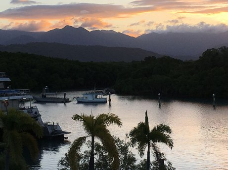 Sunset View from Boathouse Port Douglas