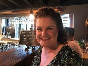Megan at Olivigna bar