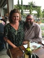 David and Megan at Olivigna