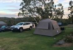 Hahndorf caravan park tent