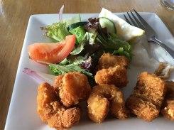 Calamari Wilpena Pound Resort restaurant