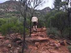 Steps Arkaroo Rock