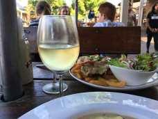 Dinner in Hahndorf