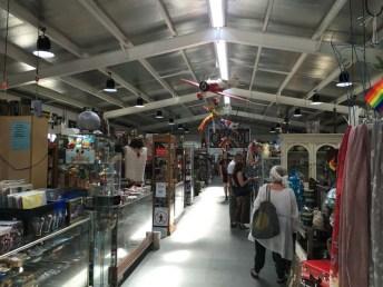 Mills Market stalls