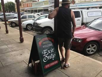David exit Beechworth Lolly