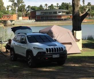 Campsite Buronga Riverside Caravan Park