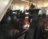 Engine on the Paddle Steamer