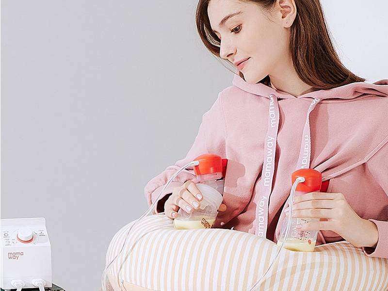 用「溫度」呵護媽咪乳房 Mamaway.熱敷雙邊電動吸乳器|Mombaby 媽媽寶寶懷孕生活網