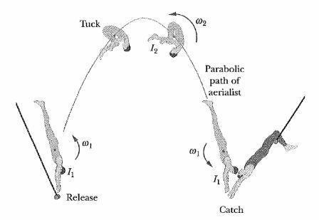 Classical Mechanics Problem: Quadruple somersault
