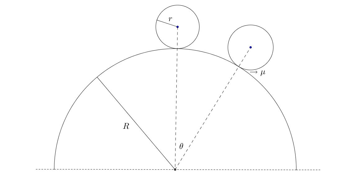 Classical Mechanics Problem: Inelastic Sphere Collision