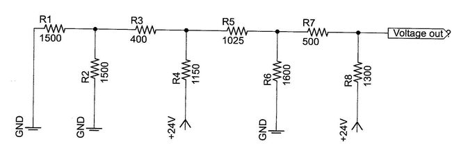 Electricity and Magnetism Problem: Resistor ladder; Not as
