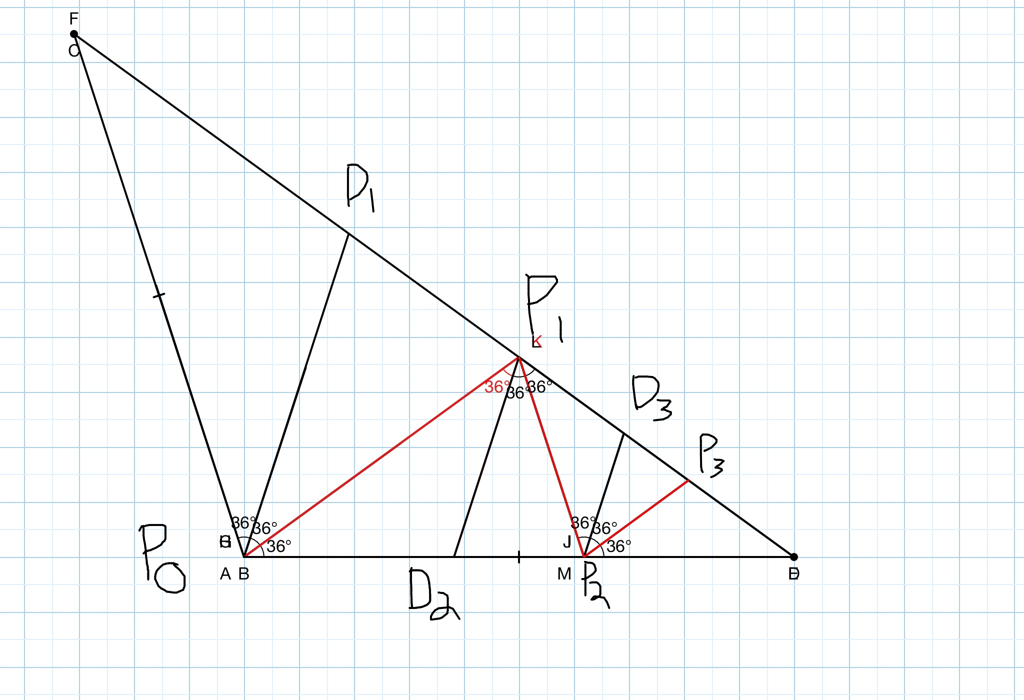 Geometry Problem: Angle trisection: A Beautiful problem