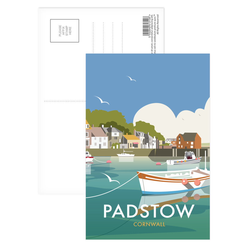padstow postcard