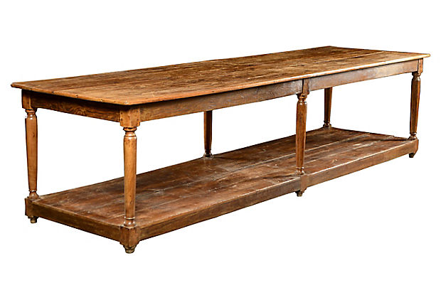 kitchen work tables pictures antique cherry oak and pine table mecox gardens