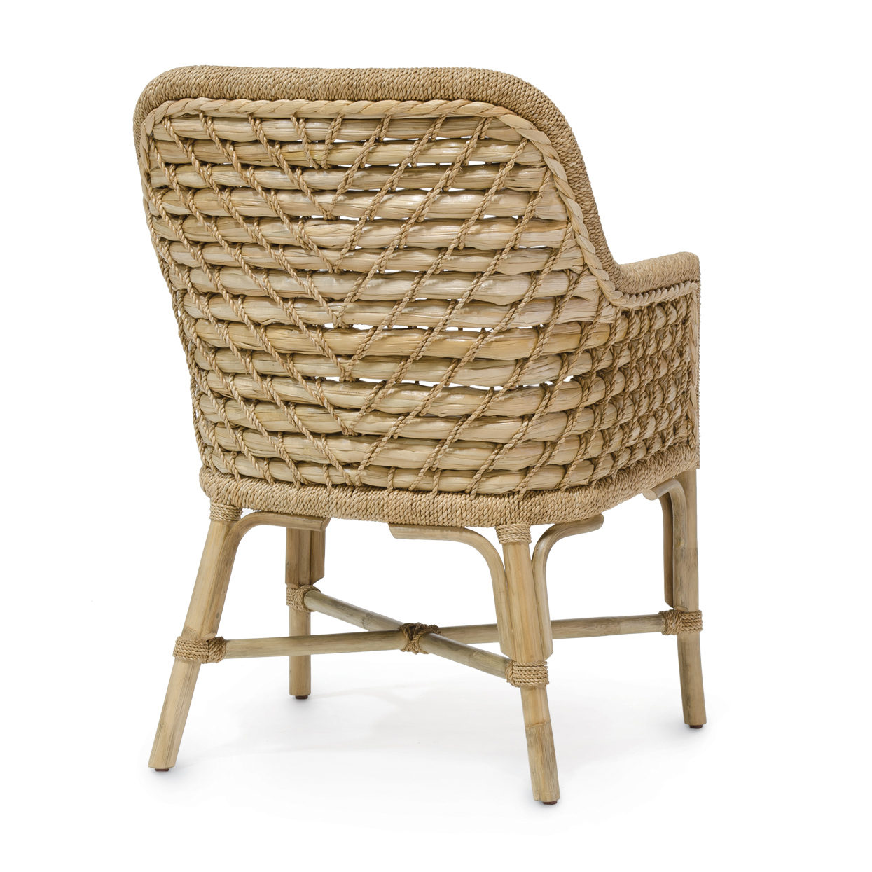 seagrass arm chair outdoor dream woven back mecox gardens