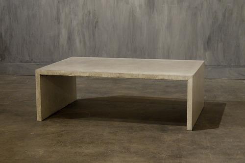 parsons concrete coffee table