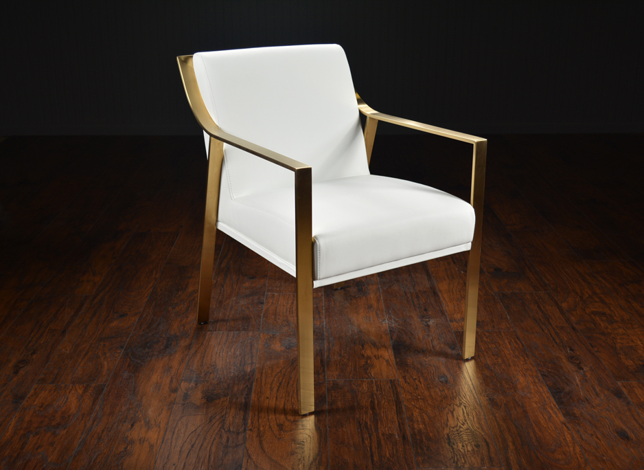 modern metal chairs cane back framed arm dining chair mecox gardens