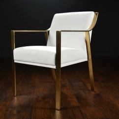Modern Metal Chairs Cheap Outdoor Chair Cushions Framed Arm Dining Mecox Gardens