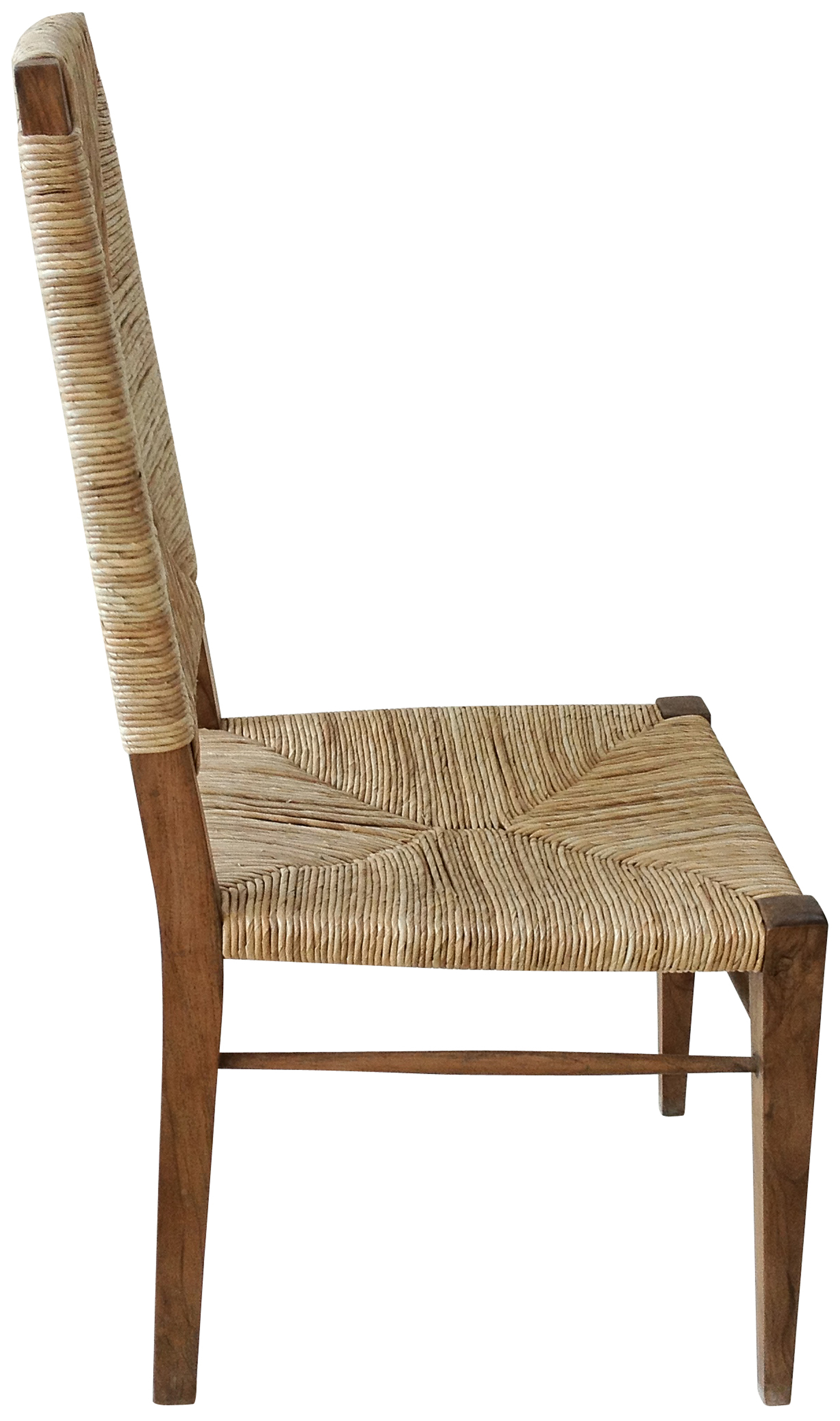 Seagrass Dining Chair Large Stewart Teak And Seagrass Dining Chair Mecox Gardens