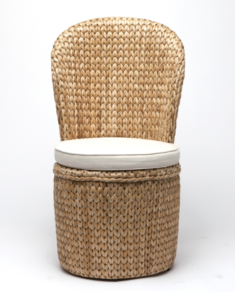 Seagrass Dining Chair Seagrass Round Back Dining Chair Mecox Gardens