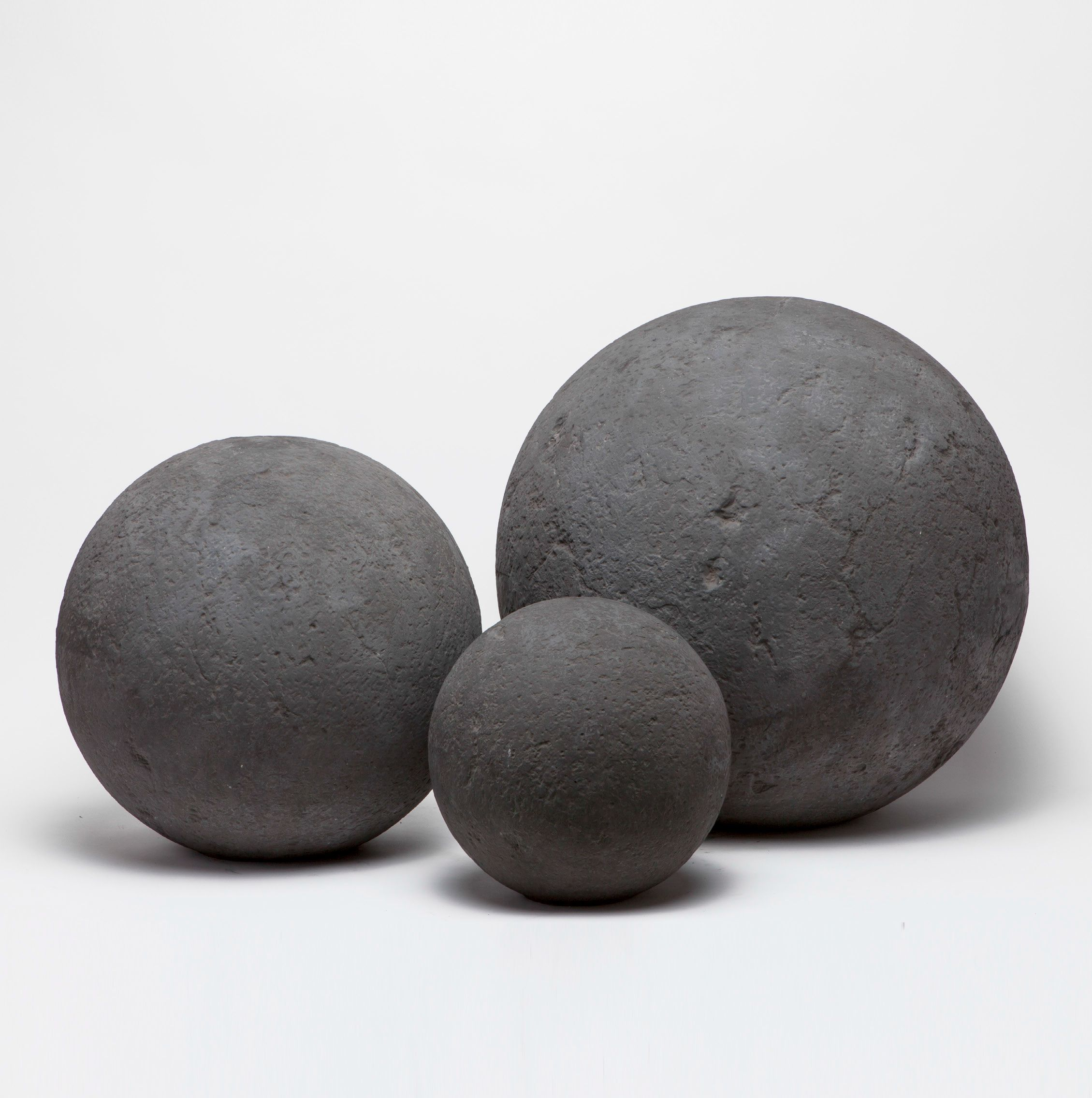 oversized concrete ball objects