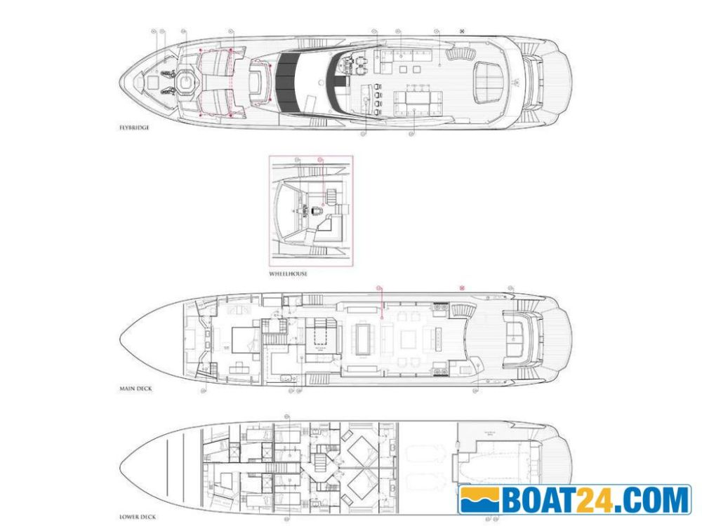 medium resolution of sunseeker 116 yacht