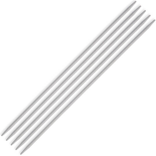 Kartopu Classic Double Pointed Needle, Aluminium, 2 mm 20