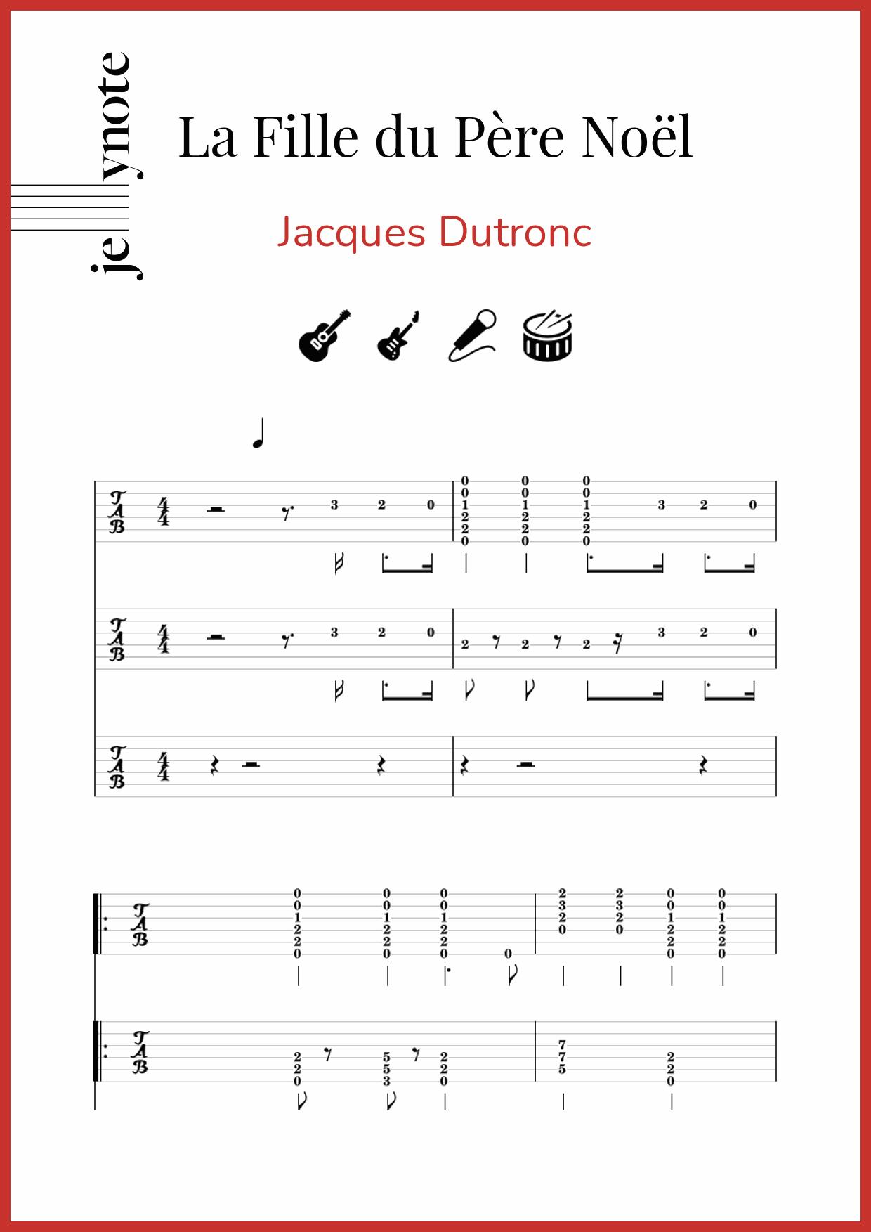 La Fille Du Pere Noel : fille, Jacques, Dutronc, Fille, Père, Noël
