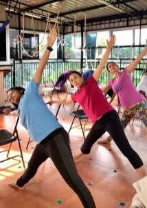 Prenatal Yoga: Side Bend
