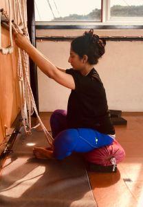 Prenatal Yoga: Arm Stretch