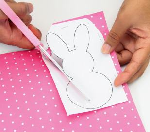 Cut out individual bunnies