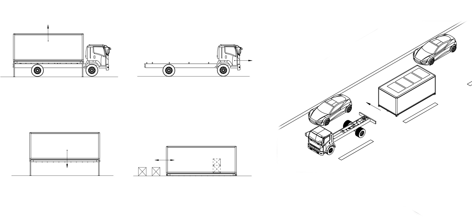 hight resolution of  the container to move itself into its parking spot the mobile hubs will have the flexibility to be placed at different locations and function as an