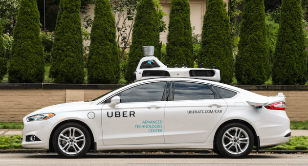 Image result for uber self driving cars