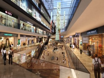 3d mall shopping building exterior models cgtrader cityscape max wireframes