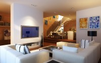 Condo Living Room 360 3D Model