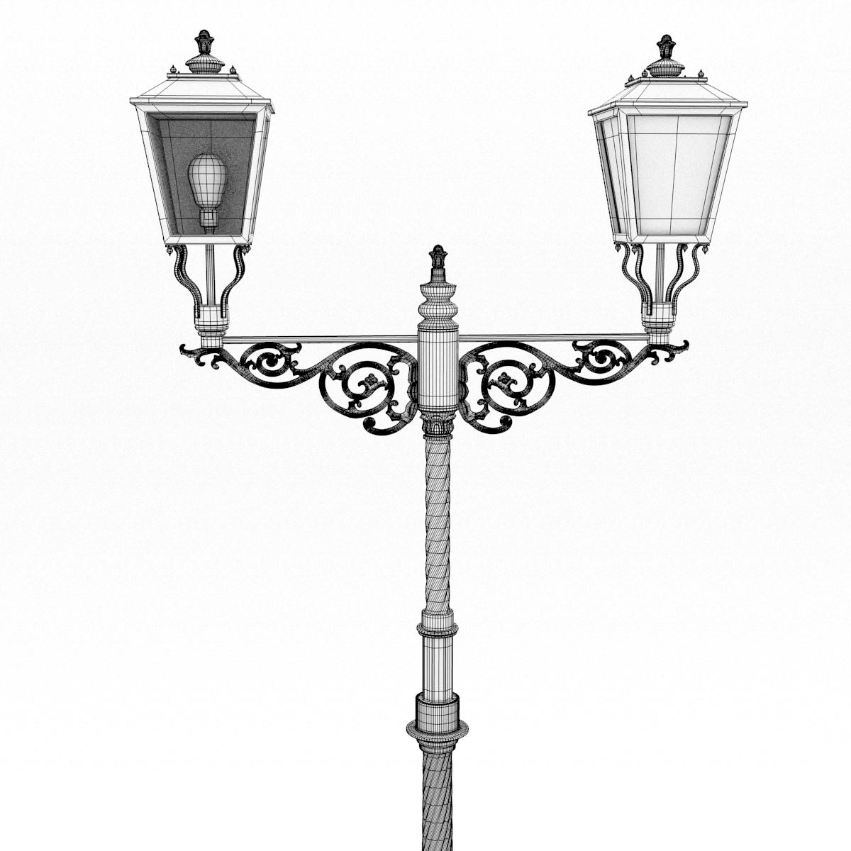 Iron Wire Lamp