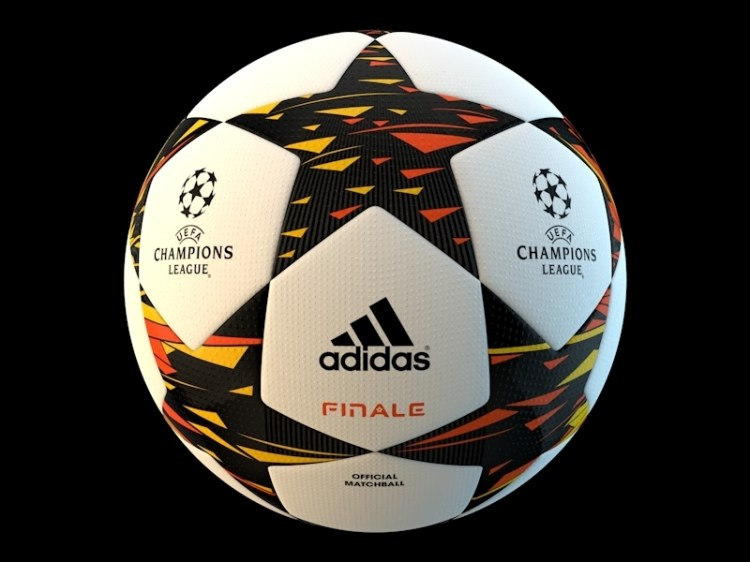 UEFA Champions league Official ball 3D Model