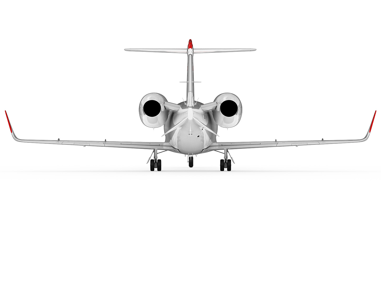 Ar R Learjet 60 3d Model