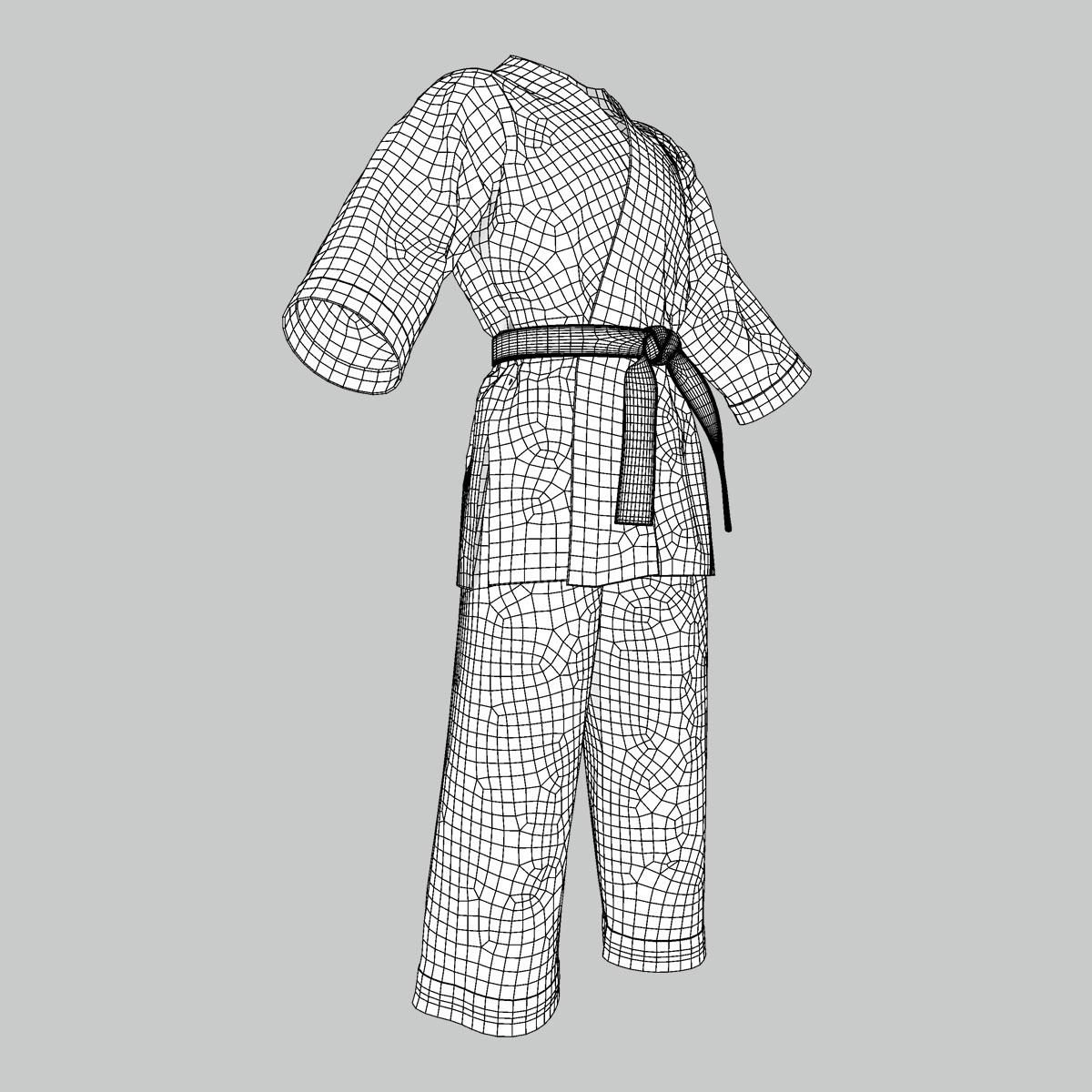 Kimono 3D Model