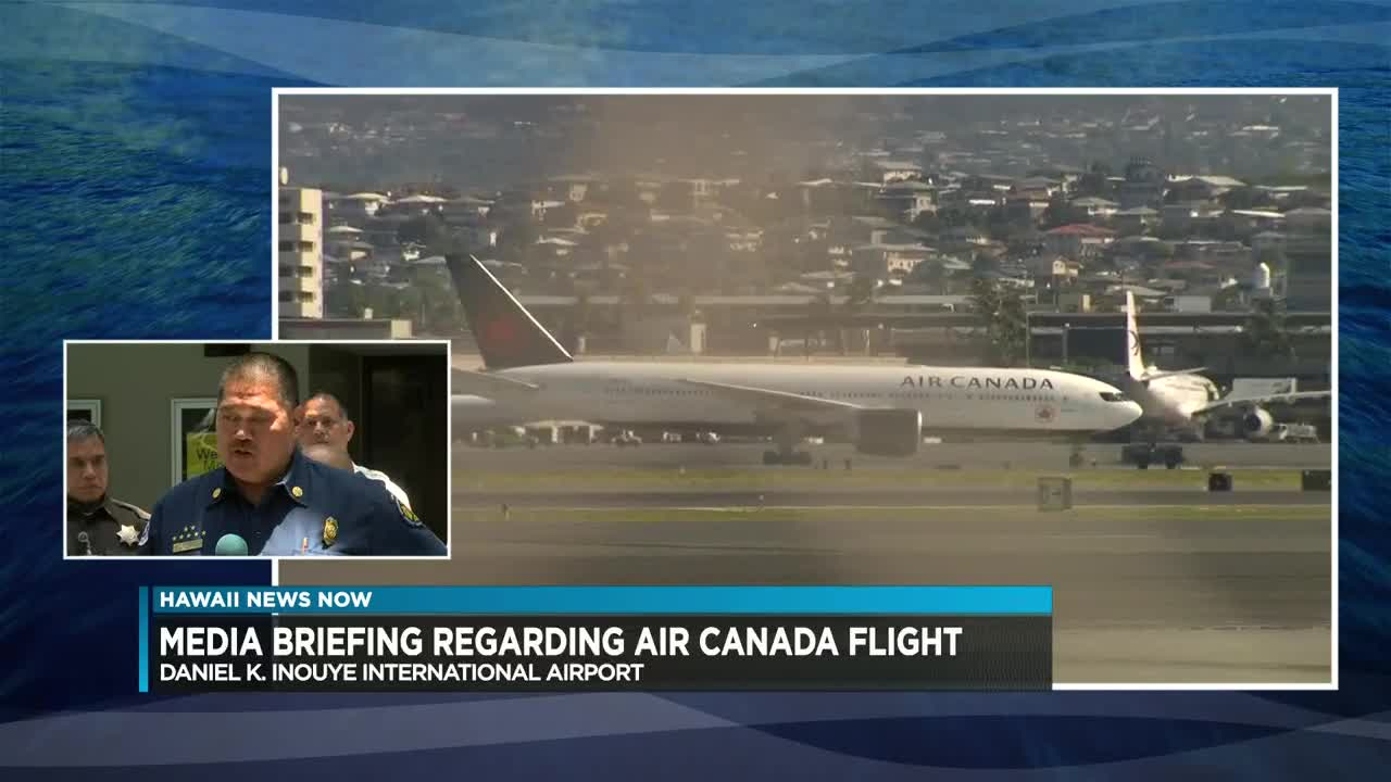 Air Canada flight diverts to Honolulu after severe turbulence ...
