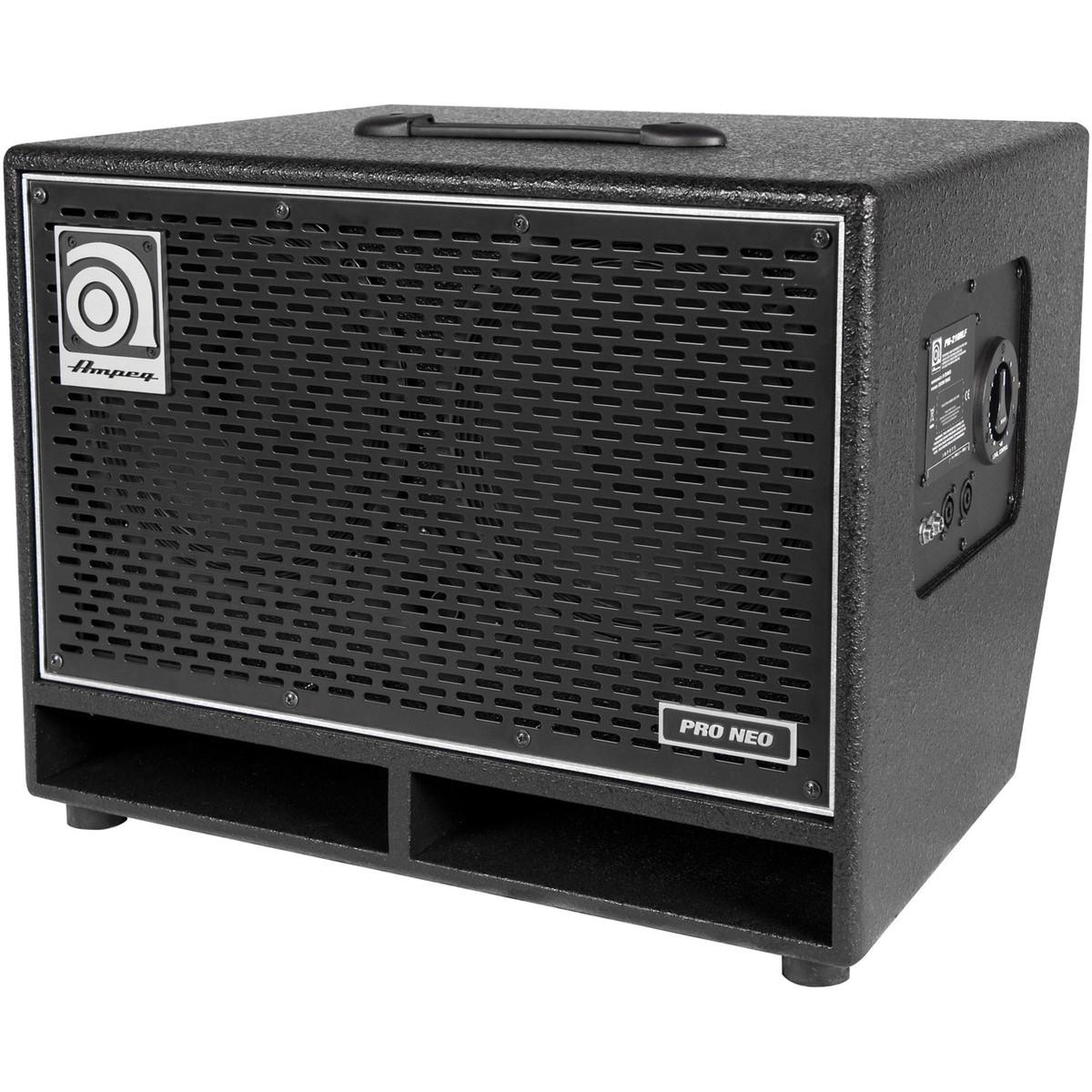 Ampeg PN210HLF 2 x 10 Speaker Cabinet at Gear4music