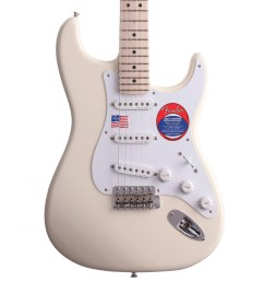 fender eric clapton stratocaster electric guitar mn olympic white loading zoom [ 1200 x 1200 Pixel ]