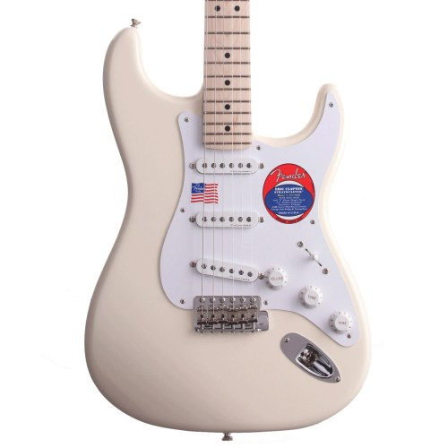 small resolution of fender eric clapton stratocaster electric guitar mn olympic white loading zoom