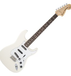 fender ritchie blackmore stratocaster electric guitar olympic white loading zoom [ 1200 x 1200 Pixel ]