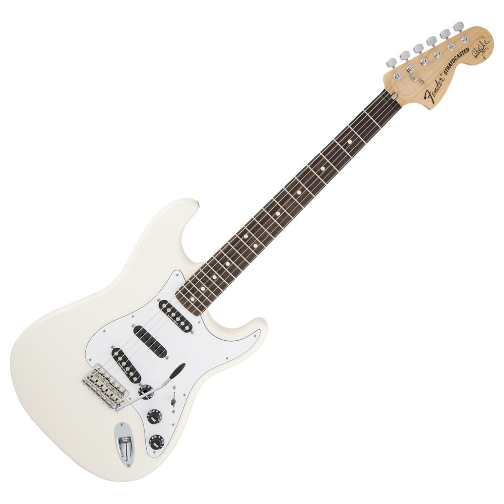 medium resolution of fender ritchie blackmore stratocaster electric guitar olympic white loading zoom