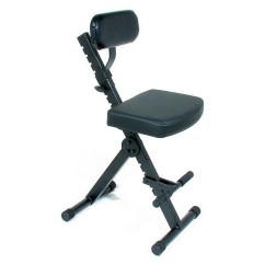 Best Chair For Guitar Playing Tables And Chairs Kids Quiklok Dx749 Rapid Set Up Fully Adjustable Stool B