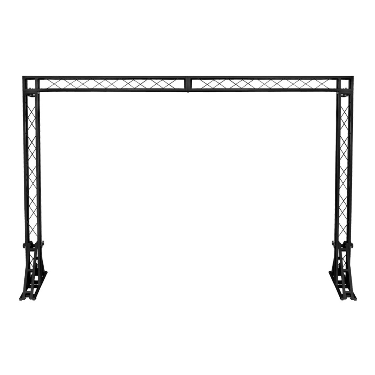 Equinox 3 X 2m Truss System Black At Gear4music